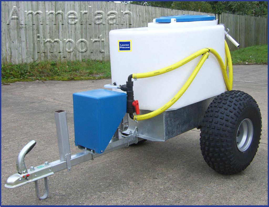 chariot transport lait mixeur distributeur