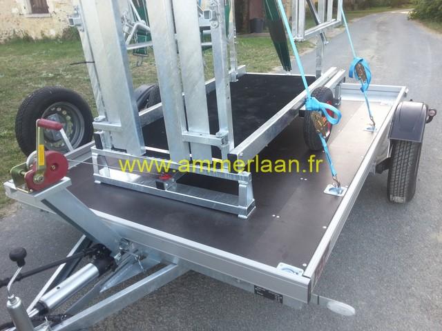 plateau remorque hydraulique top trailer 750 kg ttremspyhy. Black Bedroom Furniture Sets. Home Design Ideas
